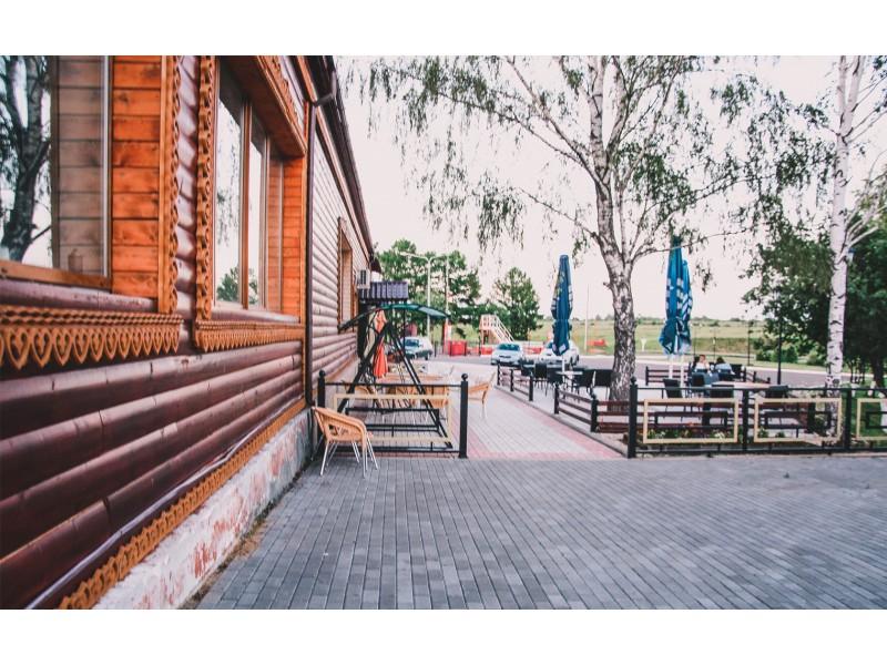 кафе Берега в Суздале
