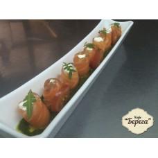 Семга со сливочным сыром