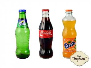 Фанта / Кока-кола / Спрайт в стекле
